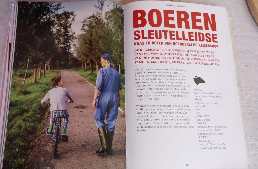 De Keizershof staat vermeld in het boek Hollandse Kaas van Betty Koster